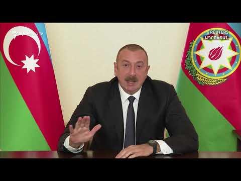 Ալիևը հերթական ուղերձով դիմել է Ադրբեջանի ժողովրդին