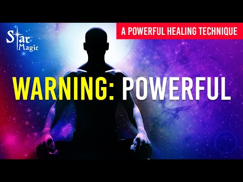 Energy Healing Technique: A Powerful Star Magic Energy Healing Technique (HEAL AS YOU WATCH)