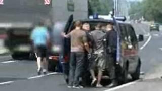 Nie złapała policja, złapali sami