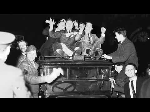 Victory in Europe Day, May 8, 1945
