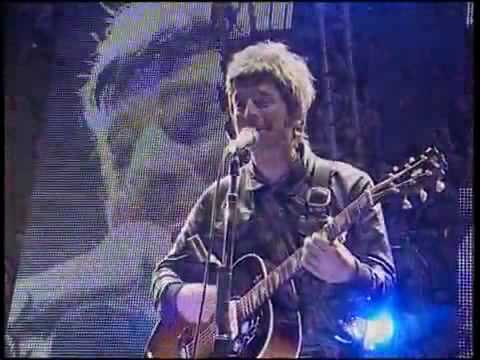 Oasis Noel - Emotional version of Don't Look Back in Anger  (Live)