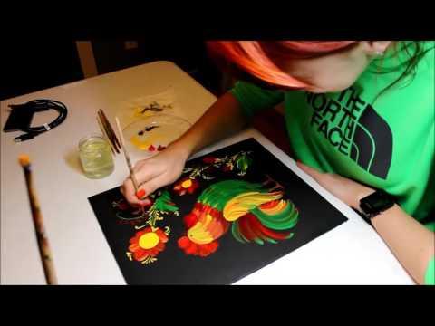 Petrykivka Design Painting Class