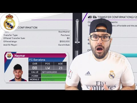 BIGGEST TRANSFER DECISION EVER! - Real Madrid Career Mode FIFA 16 #20
