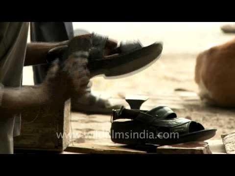 How a cobbler lives in New Delhi