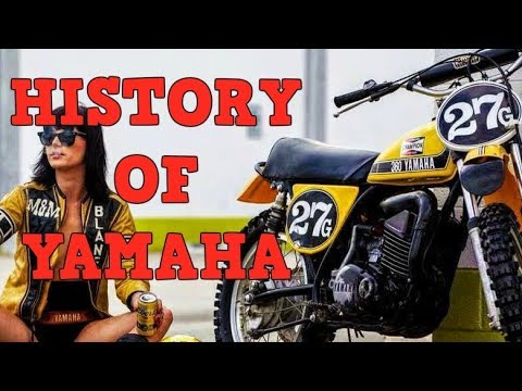 Yamaha Motorcycles - History (From 1955)