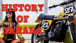 Yamaha Motorcycles - History (From 1955)