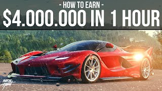 Need for Speed Heat - HOW TO EARN $4,000,000 IN 1 HOUR!!! (Best Money Making Method)
