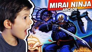MIRAI NINJA - ARCADE - Gameplay Comentado em Português PT-BR