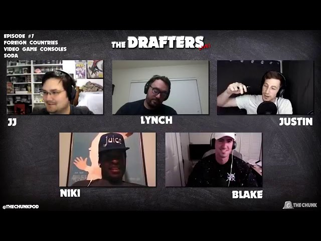 The Drafters Live! #7: Soda, Foreign Countries, Video Game Consoles