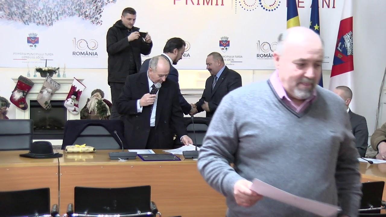 Revoluționarii turdeni, cinstiți de președintele CJ Cluj - Alin Tișe (22.12.2019)