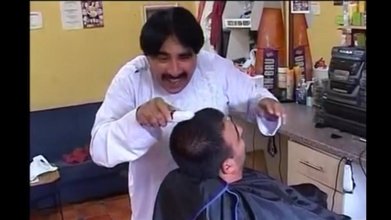 Ismail shahid FUNNY hair cutting job VERY FUNNY!!