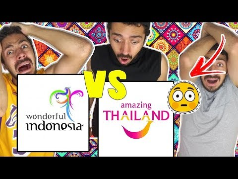 BRAZILIAN REACTION TO Amazing Thailand VS Wonderful Indonesia || Which Are The Best Video?