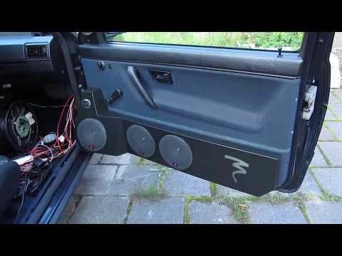 DIY Car repair remove door panels Vw golf / jetta 2