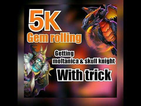 Castle Clash : Gem Rolling Trick