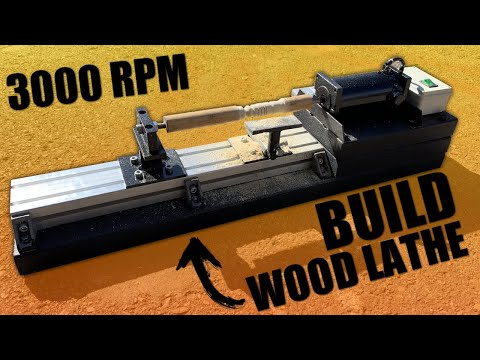 How to Make a Powerful Wood Lathe
