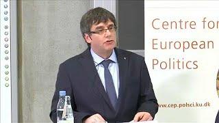 Nem adnak ki újabb európai elfogatóparancsot Puigdemont ellen