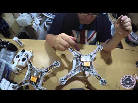 DJI Phantom 2 Vision Plus Repairs Part 2 - No Video Signal
