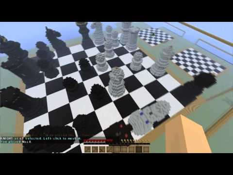 Minecraft Minigame - Giant Chess Game!