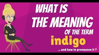 What is INDIGO? What does INDIGO mean? INDIGO meaning, definition & explanation