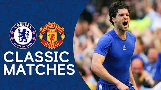 Chelsea 2-1 Man Utd | Ballack Blows Title Race Wide Open | Classic Premier League Highlights 2007/08