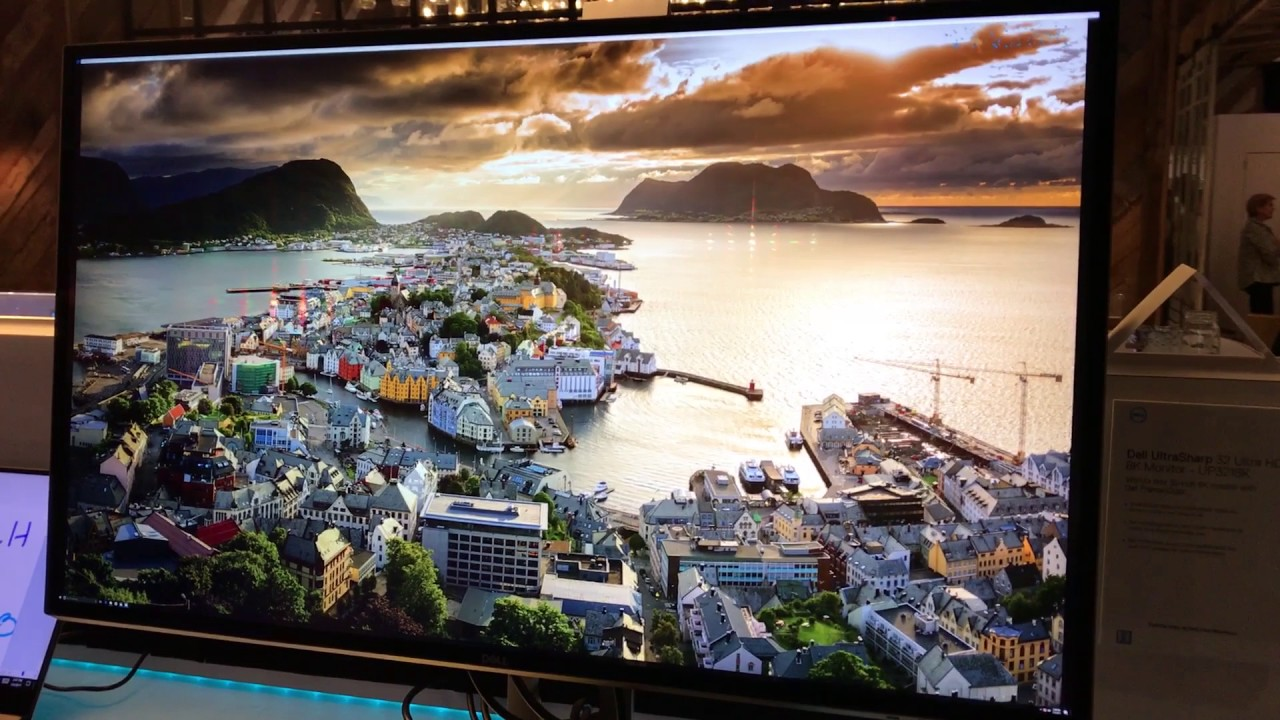Dell's First 8K Monitor is Crazy Sharp, Crazy Expensive