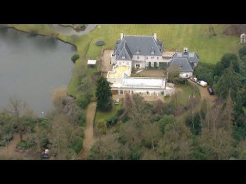 Aerial footage of Boris Berezovsky's home
