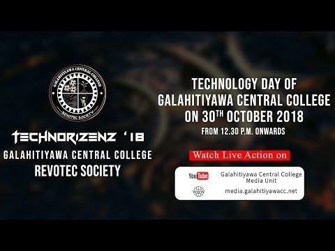 Galahitiyawa Central College Media Unit Live Stream Technorizenz '18