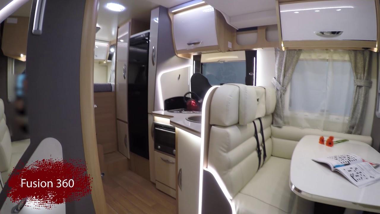 McLouis Fusion 360 Fixed Bed Brand New Italian Motorhomes