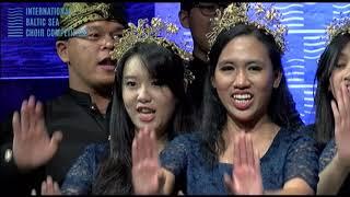 Cikala Le Pong Pong arr by Ken Steven Parahyangan Catholic University Choir IBSCC 2018