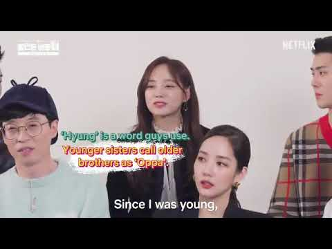 [SeSe Moment] Sejeong, Why Do You Call Sehun 'Hyung' Not 'Oppa'?