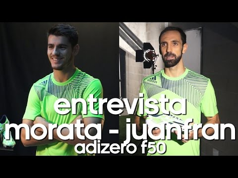Entrevista a Juanfran y Morata ● Sorteo adidas adizero f50 firmadas por Morata