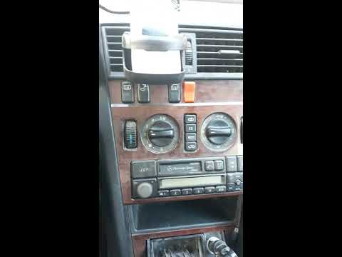 c180 w202 how to clean the cabin  air temperature  sensor