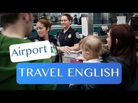 Tiếng Anh - Tại sân bay - Làm thế nào để đi qua hải quan và kiểm tra tại