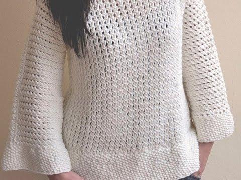 Como hacer el punto jersey con dos agujas youtube - Como hacer punto de lana para principiantes ...