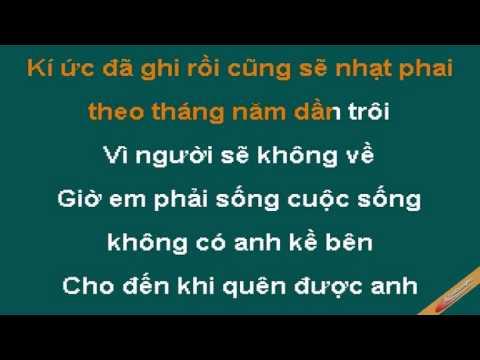 Anh Cu Bo Mac Em Karaoke - J8687 - CaoCuongPro