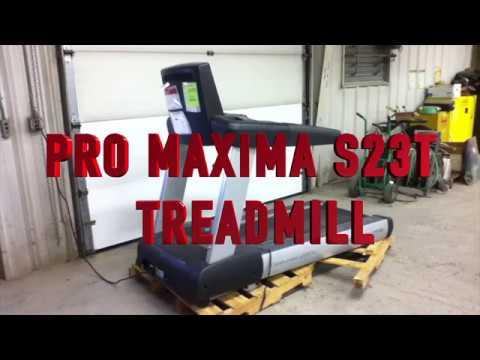ProMaxima S23T Treadmill on GovLiquidation com