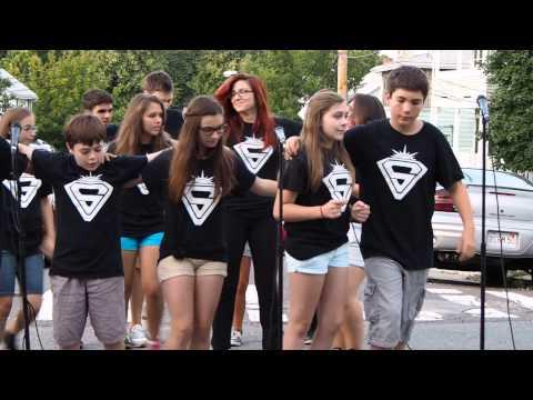 """Somerville Sunsetters 2014 sing """"Back in the Ville"""" in Somerville, Massachusetts"""