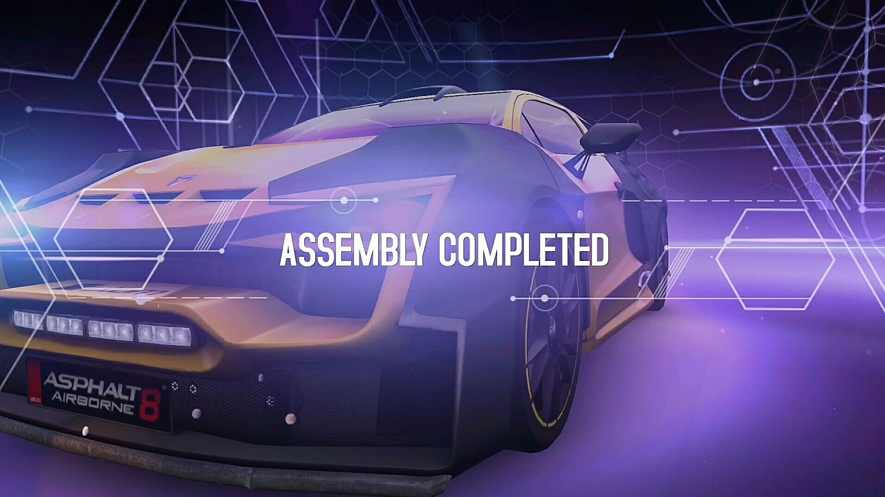 Asphalt 8 | Blueprint car\'s \