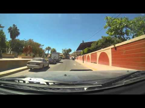 A drive through Santa Rosalia Baja Mexico
