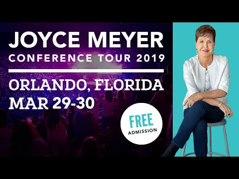 Tickets | 2019 Joyce Meyer Conference Tour, worship with