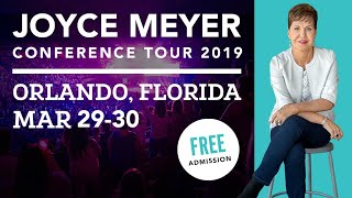 Joyce Meyer Conference Tour 2019 | Orlando FL