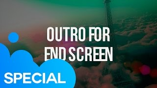 Outro For 'End Screen' On YouTube | After Effects Template