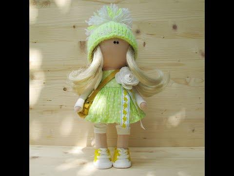 Как сшить платье для куклы коннэ