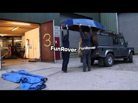 How to fit a Roof Rack to your Land Rover Defender