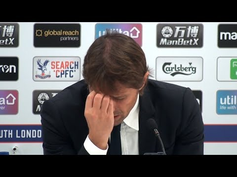 Crystal Palace 2-1 Chelsea - Antonio Conte Full Post Match Press Conference - Premier League