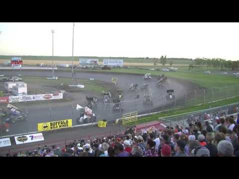 Red River Valley Speedway 07/17/2016 - NOSA Sprints   Feature