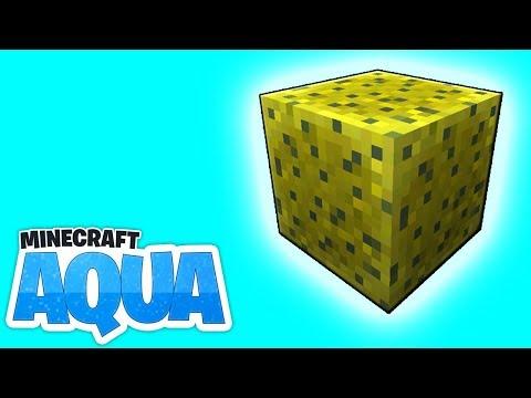 Massig Schwämme! Unterwassertempel Tour! - Minecraft 1.13 AQUA #14