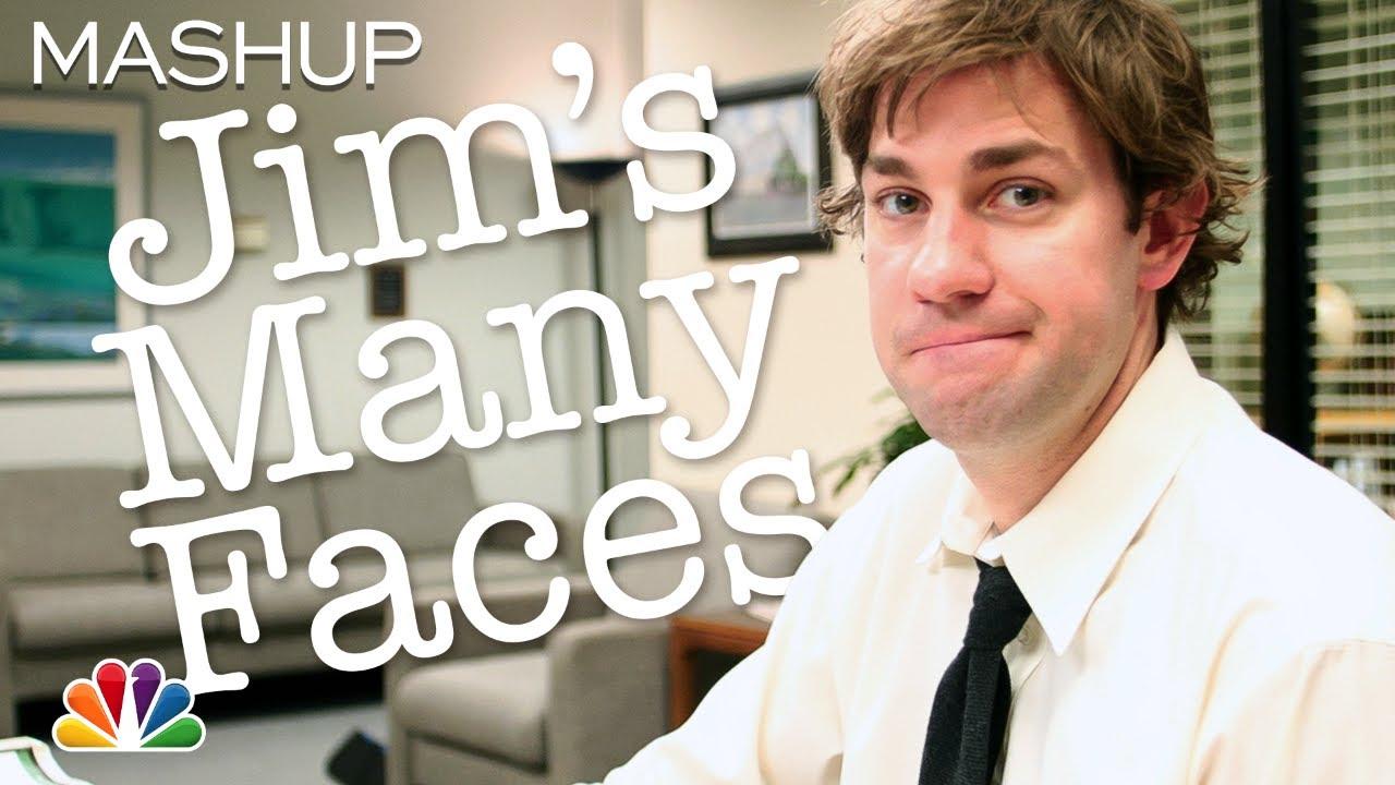Jim Halpert's Best Faces - The Office
