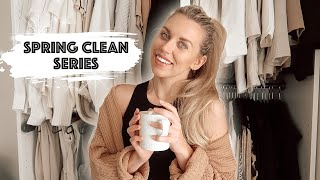 EXTREME WARDROBE CLEAROUT & DECLUTTER WITH ME | SPRING CLEAN SERIES | ULTIMATE CLEANING MOTIVATION