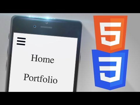 Create A Responsive Navigation With HTML And CSS
